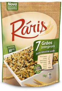 Arroz integral 7 cereais Ráris