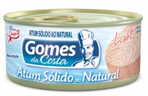 Atum sólido ao natural light Gomes da Costa