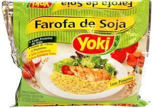 Farofa de soja Yoki