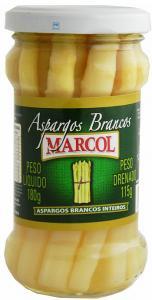 Aspargos brancos inteiros Marcol