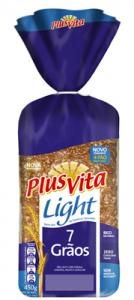 Pão light 7 grãos Plus Vita