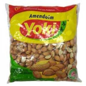 Amendoim descamado médio Yoki