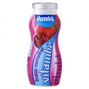 Iogurte frutas vermelhas Vitambé Itambé