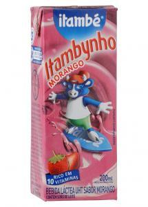 Bebida láctea UHT morango Itambynho Itambé
