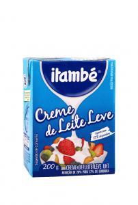 Creme de leite leve Itambé