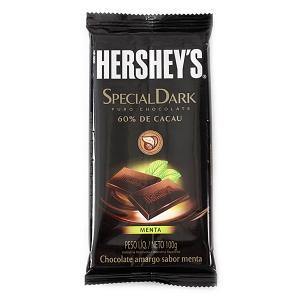 Chocolate amargo Hershey s Special Dark Menta