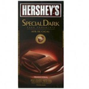 Chocolate amargo Hershey s Special Dark Tradicional