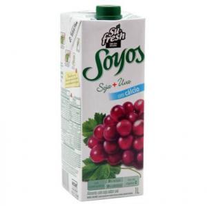 Suco de soja com uva Sú Fresh