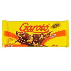 Chocolate Garoto Cajú