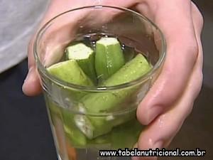 Água de quiabo contra o diabetes